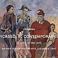 After picasso: 80 contemporary artists examine the master's legacy through array of work