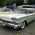Ford ranch wagon 2door - 1959