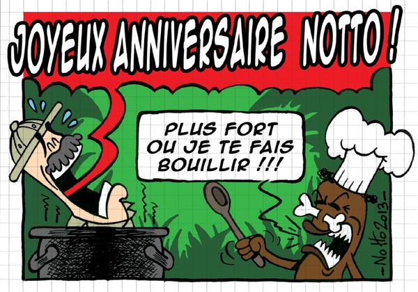 2013 - Carte Anniversaire NoTTo