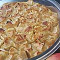 Gâteau pommes-amandes sans gluten
