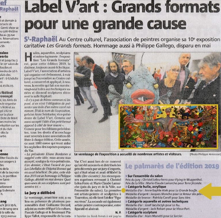 Article Expo St Raphael 01