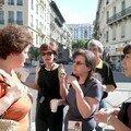 Petit déjeuner à la Place Toselli le 2 juin 2007