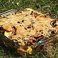 Gratin de pâtes au thon et à la courgette de c.felder
