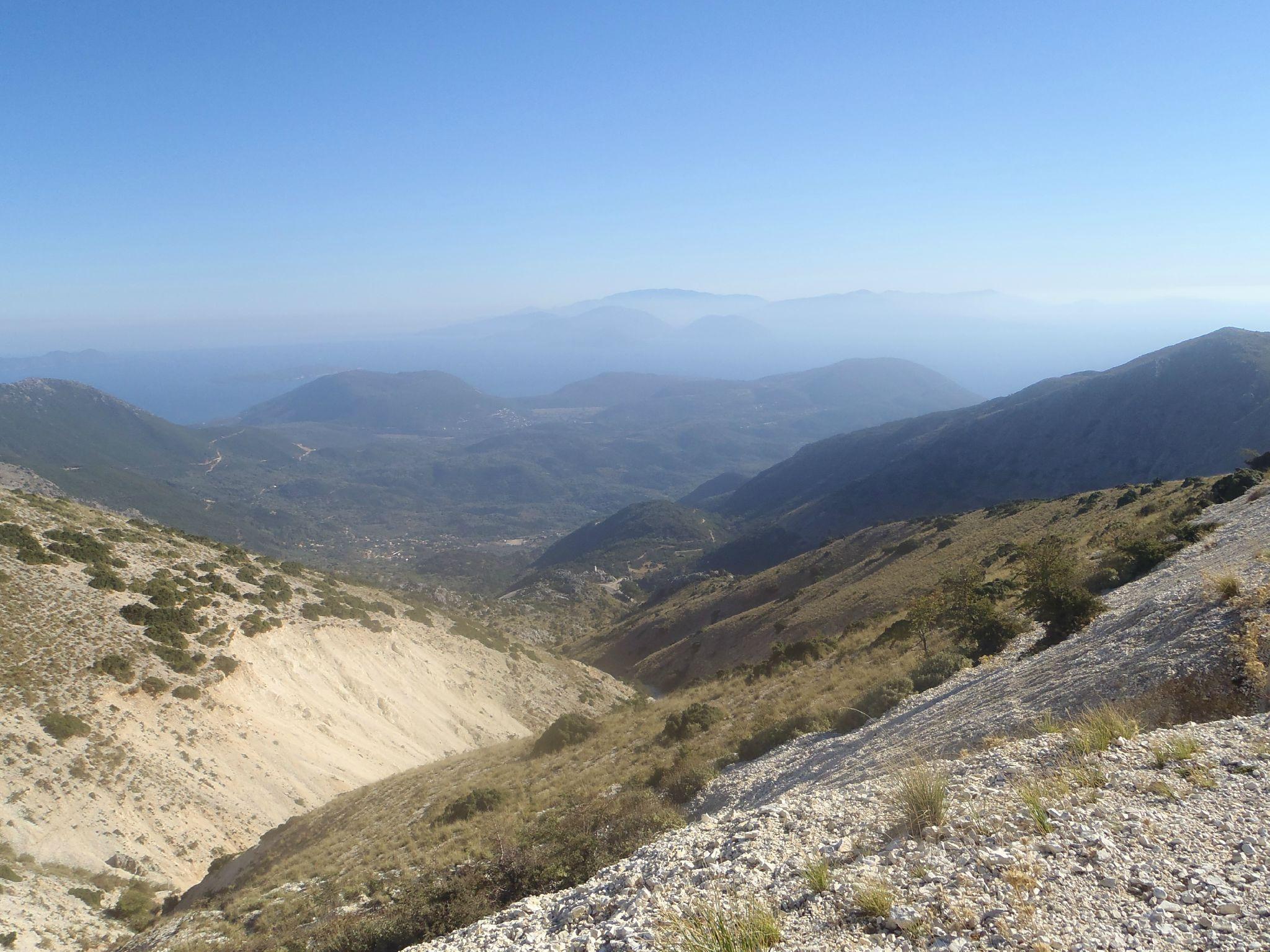 grèce lefkas sommet panoramique