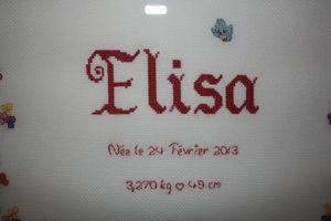 Tableau naissance Elisa 02