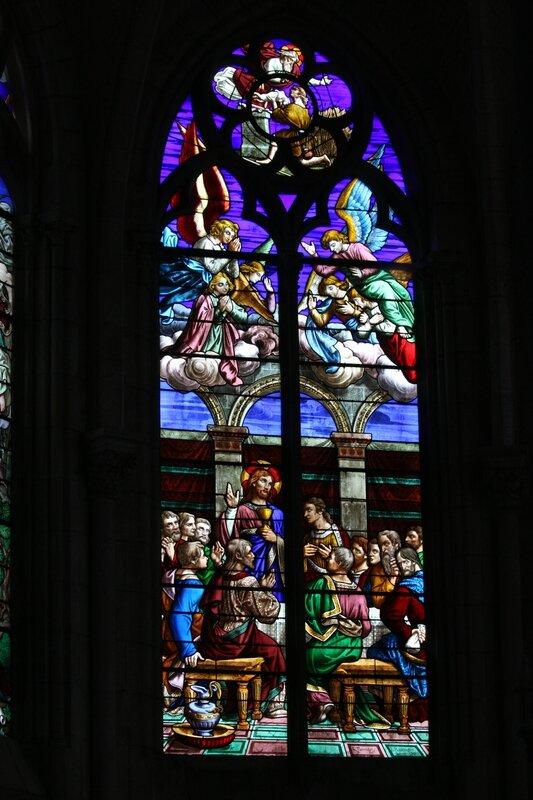 Eglise de Châtillon-sur-Loire, la Cène. (Photo A. Estienne)