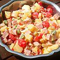 La salade piémontaise sans mayo!