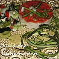 riz legumes sauce curcuma