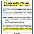 Tract :transformation d'auchan retail france