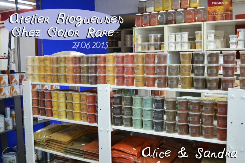 présentation color rare alice et sandra