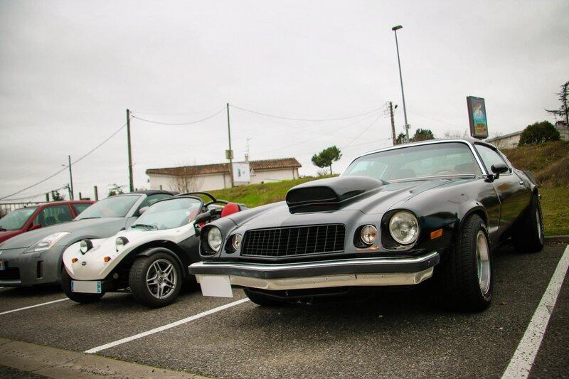 Chevrolet Camaro et Secma F16