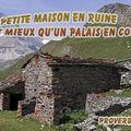 Proverbe arabe maison en ruine