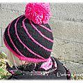 Snood et bonnet d'hiver