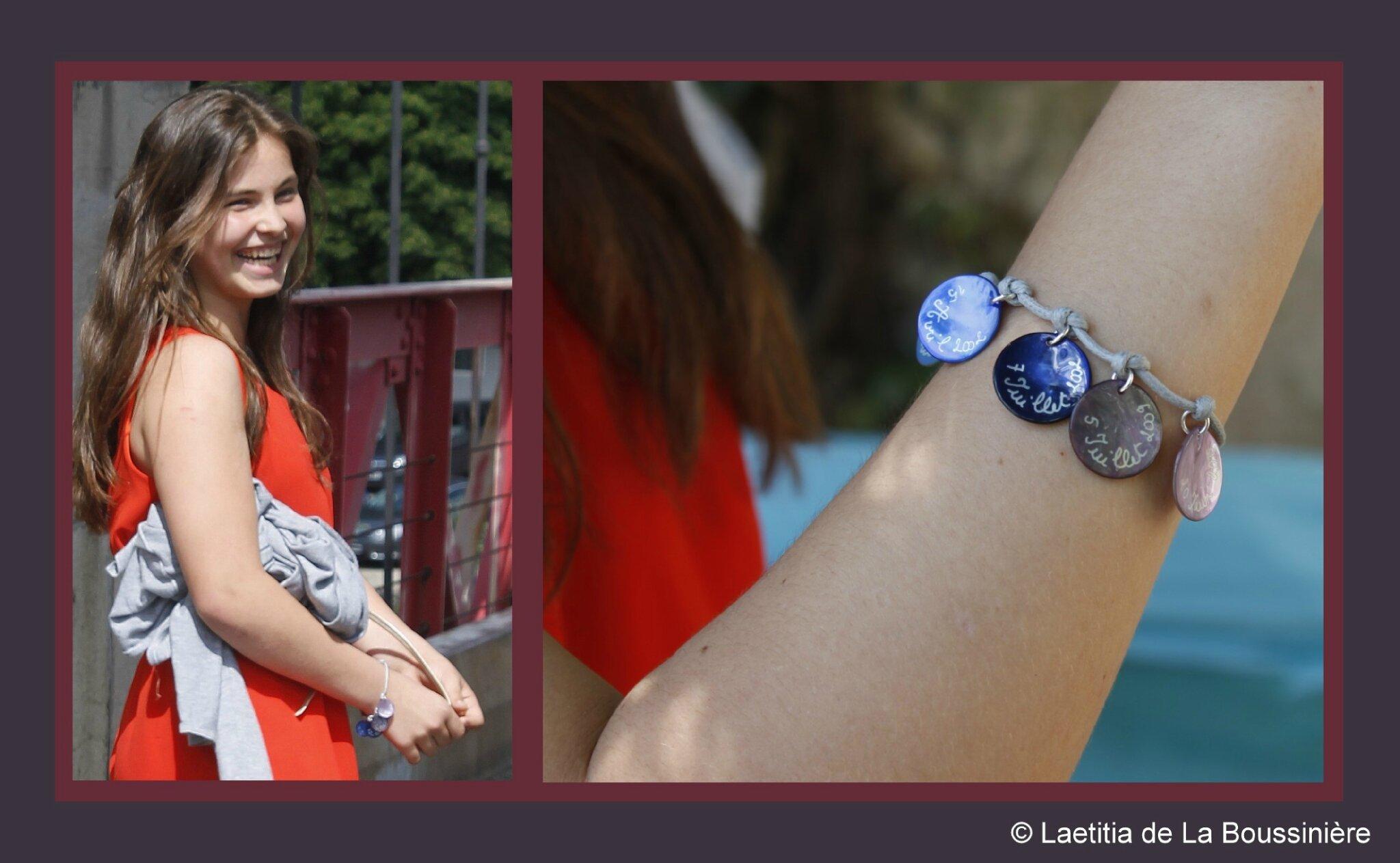 Le bracelet de Profession de Foi de Castille