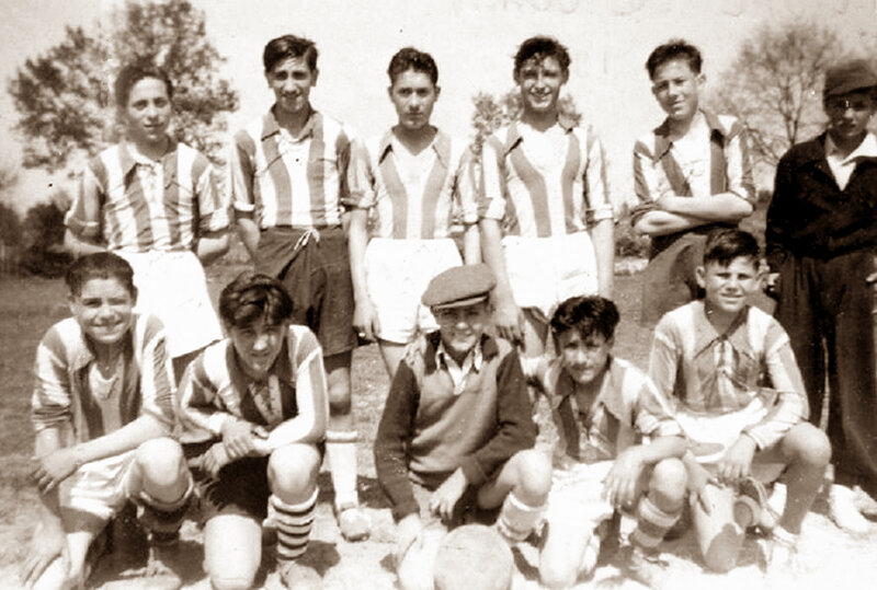 photos patronnage Floirac 1949