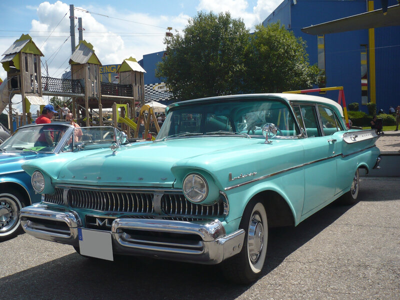 MERCURY Monterey 4door Sedan 1957 Sinsheim (1)