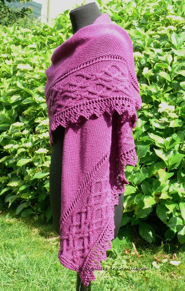 Lovely Day Shawl 7