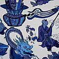 Dragonista bleu