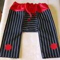 Un petit pantalon-sarouel pour antonin