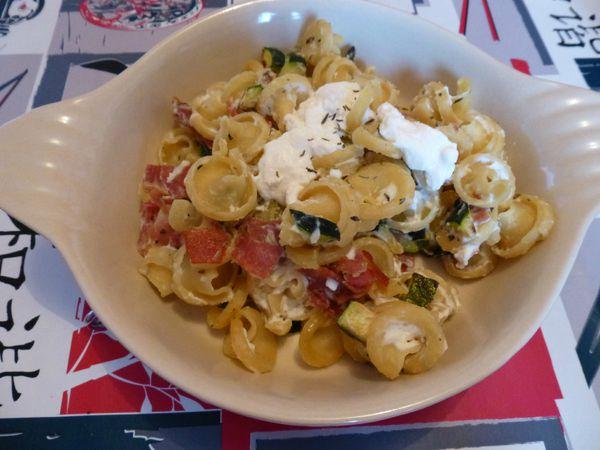 Frivoli au prosciutto, courgettes et ricotta (3)