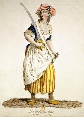 la femme du sans-culotte