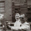 Mai 1957 marilyn et arthur n.y by car par sam shaw