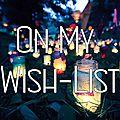 On my wish-list #9