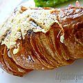 Croissants au jambon et au munster