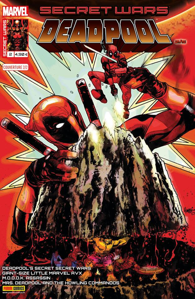 Panini Marvel : Secret Wars Deadpool