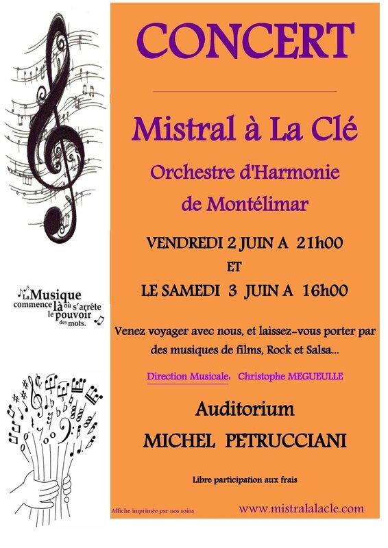 Affiche concert Encart Montélimag