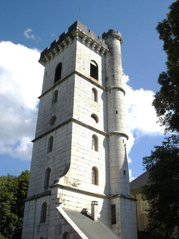 P la tour du château de Champdor