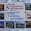 Touraine - sites d'exception