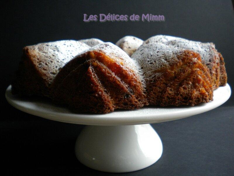 Gâteau d'automne aux pommes et aux noix 3