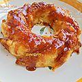 Pudding moelleux a la semoule et pommes caramélisées recette inédite