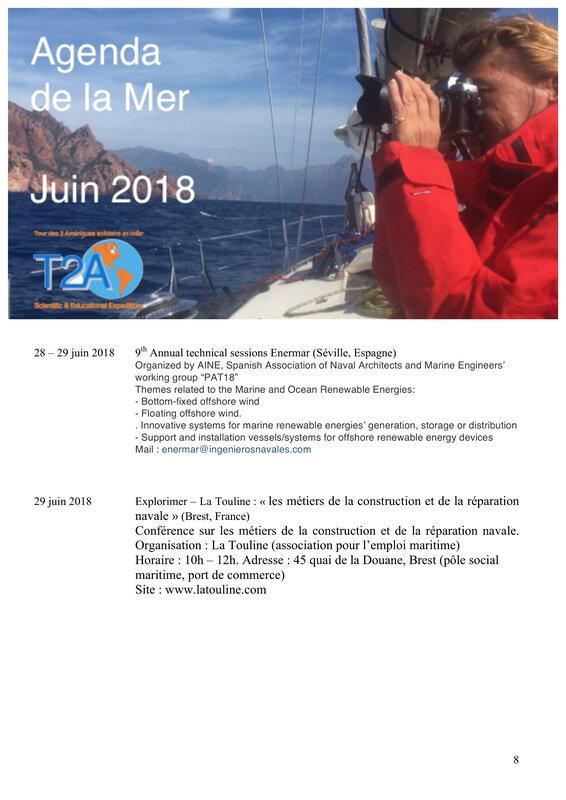 Agenda de la mer juin 2018 page 8:8