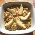 Petit gratin de blé au camembert (pour 2)