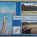 Vimy - mémorial Canadien