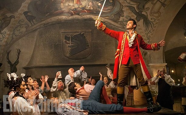 Luke Evans as Gaston_Beauty & The Beast movie