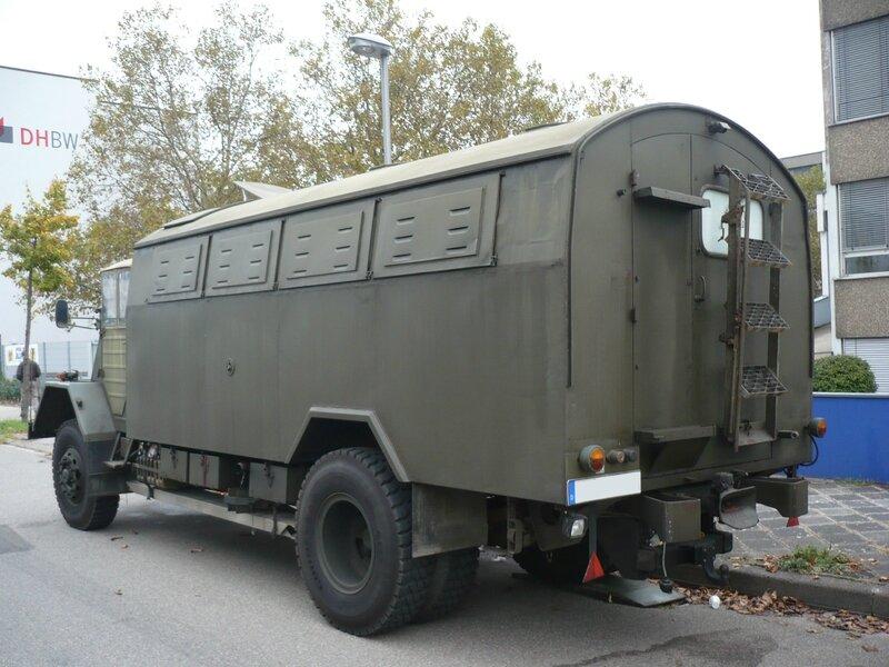 MAN 630 L2A camion militaire de transport de troupes Mannheim (2)