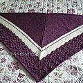 Wool peddler's shawl