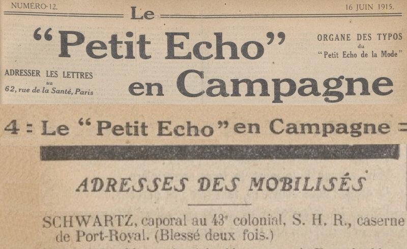 SCHWARTZ 1915 15 JUIN Le_Petit_écho_en_campagne
