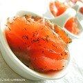Filet de saumon marinés