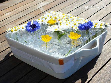 à faire soi-même paquerettes, idée déco fleur à faire soi-même, diy flower