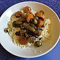 Tajine légumes et tofu (végétarien)