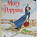Livre ancien ... mary poppins (1966) * walt disney