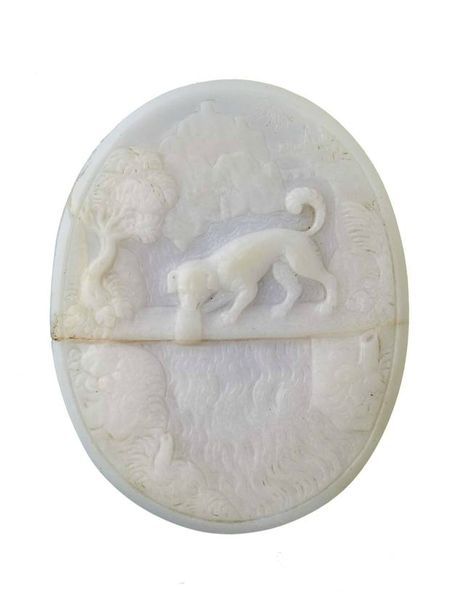 Cameo---Aesop's-Fable-Dog-a