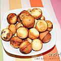 Cake balls au crunch et à la noix de coco