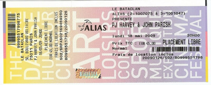 2009 05 PJ Harvey Billet