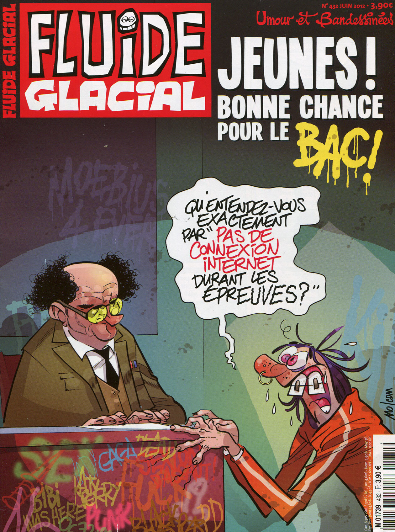bac fraude education nationale mamouth humour