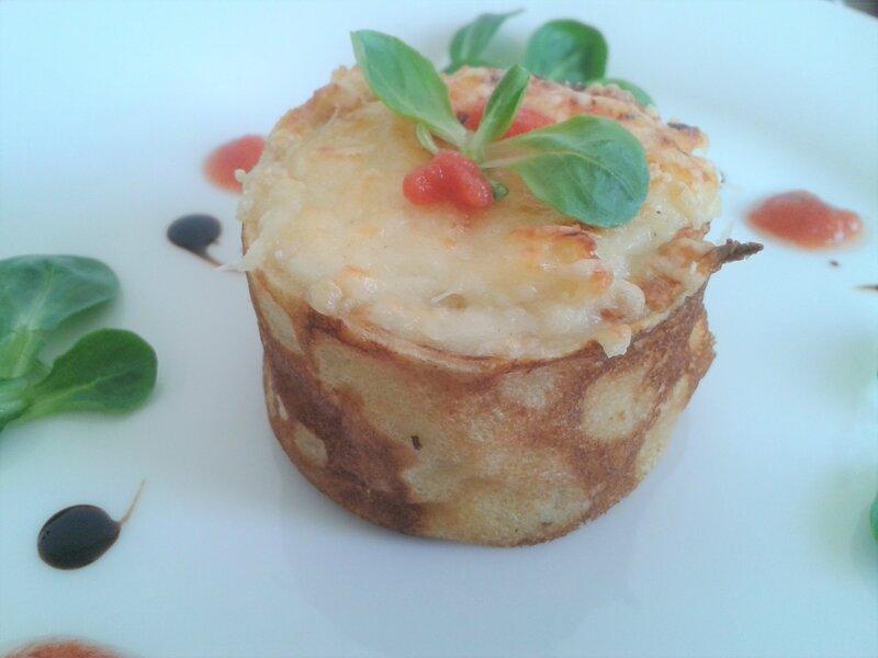 Spéciale chandeleur crêpes revisitées, crêpes au fromage du chef Custos